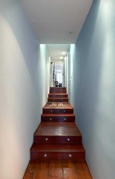 2003 - Appartement O - Bordeaux - 150 m2 - rénovation d'un appartement