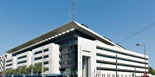 Hôtel de police à Bordeaux