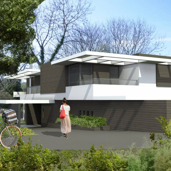 Construction d'une résidence secondaire de 380 m2 - DEAUVILLE
