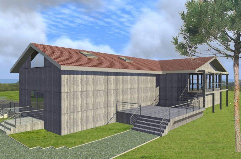 Laboratoires ITC - Rénovation d'une usine pharmaceutique existante - Gujan-Mestras