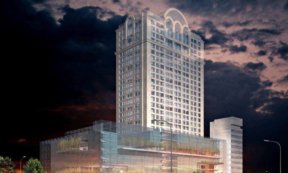 2005 - Hôtel Sheraton - Dalian, Chine - Lauréat du concours