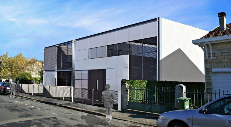 2009 - Maisons C et V - Bordeaux - 150 m2 chacune - résidences principales