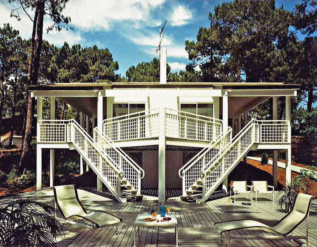 1988 - Maison P - Cap-Ferret - 180 m2 - résidence secondaire