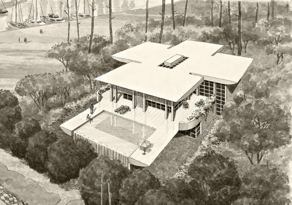 1993 - Maison de la Vigne - Cap-Ferret- 180 m2 - résidence secondaire