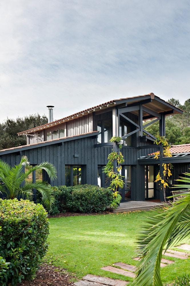 2012 - Maison N - Cap-Ferret - 180 m2 - résidence secondaire