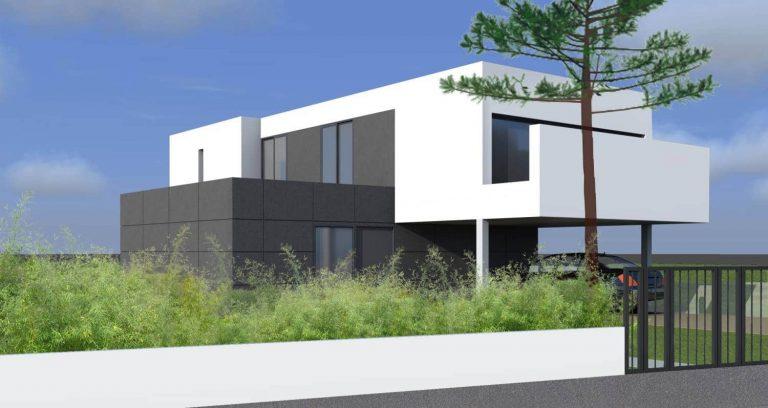 Construction d'une résidence principale de 190 m2 - PESSAC