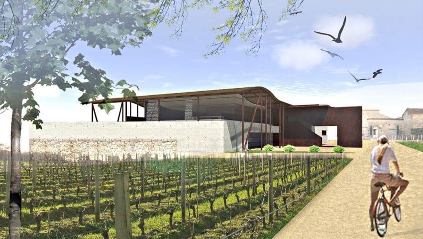 Projet N° 1 - Château Balestard la Tonnelle - Extension d'un chai viticole existant à Saint-Emilion