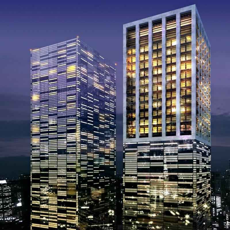 2005 - Tours des finances - Dalian, Chine - Lauréat du concours